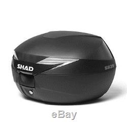 SHAD Yamaha MT-07 2014 Top Luggage Set. Including SH39 Top Box and Fitting Kit