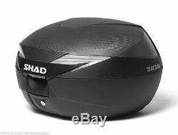 SHAD Yamaha MT-09 2017 2019 Full Luggage Set Panniers, Top Box & Fitting Kit