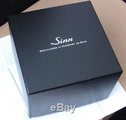 SINN 144 Automatik Sport Chronograph FULL SET BOX & PAPIERE TOP ZUSTAND