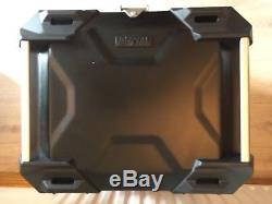 SW-MOTECH TRAX ADVENTURE Alu-BOX Top-Case 38 L. Black with Lock Set