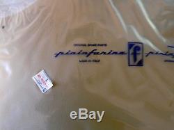 Satz Original Pininfarina Fiat 124 Spider 66-85 Seitenabdeckung Verdeck Tasche
