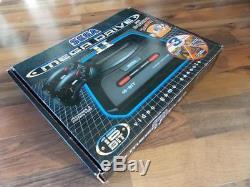 Sega Megadrive 2 Sonic/mega Games 2 Boxed Set+top Condition+12 Top Games+more