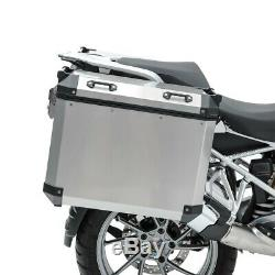 Set Alu Koffer für BMW R 1250 GS Adventure 19-20 + Kofferträger ADX90