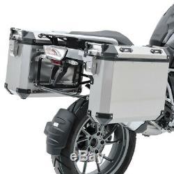 Set Aluminium Panniers + Rack for BMW R 1250 GS Adventure 19-20 ADX70