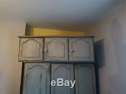 Shabby Chic wardrobe set and topbox
