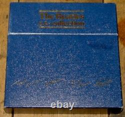THE BEATLES EP COLLECTION SET OF 15 7 EPs SINGLES HOUSED IN FLIP TOP BOX 1981