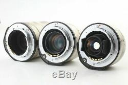 TOP MINT in BOXCONTAX G1 20years kit 28 45 90 Lens set From JAPAN #1603