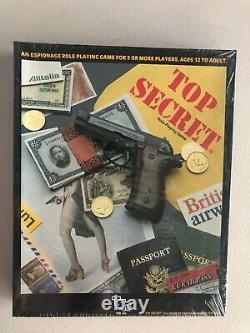 TSR Top Secret RPG Box Set 1st Edition New Shrinkwrap