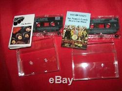 The BEATLES 16 cassette box set ROLL TOP Sgt Pepper's Rubber Soul Revolver