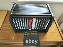 The Beatles 1988 rare wooden roll top box set of complete works, beautiful