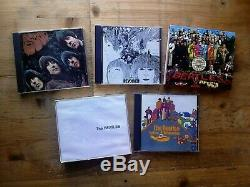 The Beatles Album Box Set 16 x CD's Roll Top Bread Box Set CDS 7913022 1988