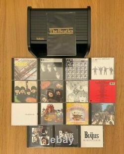 The Beatles CD Box Set / Bread Bin Wooden Roll Top / 1988 / Excellent Condition