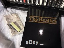 The Beatles CD Box Set Collector Roll Top Bread Box Wooden