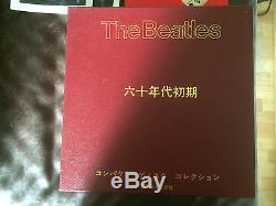 The Beatles, Die Rote, 4 CD Box Set 1 Japan only(anf. 80iger), Top Zust, superrar