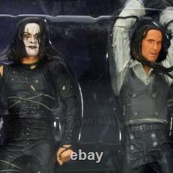 The Crow Boxed Set-Eric Draven Vs. Top Dollar Action Figures and Rooftop Battle