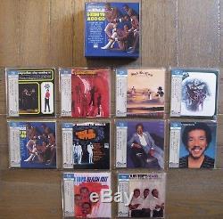 The Temptations, Four Tops. 10 Titles Japan Mini Lp Shm-cd + Promo Box Set
