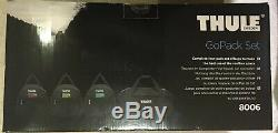 Thule 8006 Go Pack Set Roof Top Box Cargo Carry Bags Set of 4