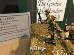 Tommy Atkins Rare Boxed Set Gordon Highlanders Over The Top. WW1