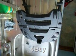 Top Box Set Givi Honda CBR1100XX Blackbird 97-07 Top Box + Rack V47 Monokey. Vgc