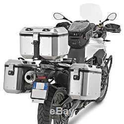 Top Box Set Givi Honda Crosstourer 12-17 DLM46A Mkey silver+alu carrier