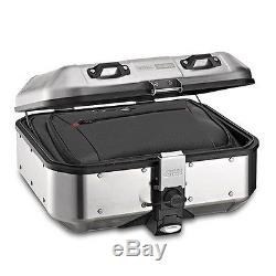 Top Box Set Givi Honda Hornet 600 98-02 DLM30A Mkey silver