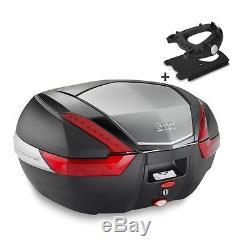 Top Box Set Givi Honda Silver Wing 600 01-09 V47N Monokey black