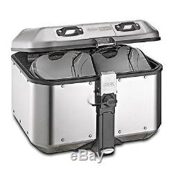 Top Box Set Givi Honda VTR 1000 F Firestorm 97-04 DLM46A Mkey silver