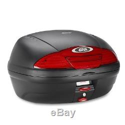 Top Box Set Givi Suzuki Bandit 650 05-08 Monolock E450N black