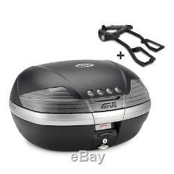 Top Box Set Givi Suzuki GSR 750 11-16 Givi Monokey V46NT black