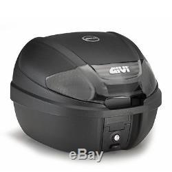 Top Box Set Givi Suzuki SV 1000 S 03-08 Monolock E300NT black