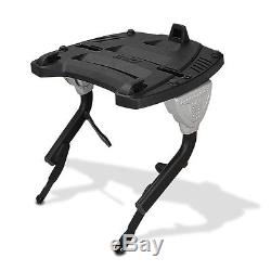 Top Box Set Givi Yamaha FZS 600 Fazer 98-03 E460N Monokey black