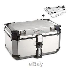 Top Box Set KTM 1190 Adventure/ R 15-16 Kappa Monokey KVE58A silver+alu carrier