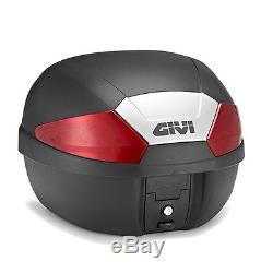 Top Box Set Suzuki V-Strom 650 2017 Givi Monolock B29N, 29 l, black