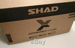 Top Case SHAD SH59X top box case expandable from 46L to 58L, 3 settings