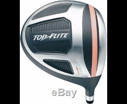 Top Flite Golf XL Women's Complete Bag Box Set Right Hand Gray Pink Ladies NEW