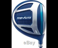 Top Flite Golf XL Women's Complete Box Club Set Ladies Teal Blue RIGHT HANDED N