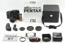 Top MINT in Box Pentax 67 Late Model SET TTL + SMC P 105mm f/2.4 6x7 Japan