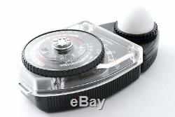 Top Mint Sekonic L-398 Light Exposure Meter in Box with Slide 1-11set from Japan