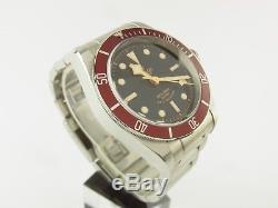 Tudor Heritage Black Bay 79220R Bj 2012 mit Box & Papieren Full Set Top Zustand