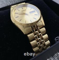 Uhr Seiko SGF206 Gold Datejust NEW FULL BOX/PAPERS Fullset Top Rarität