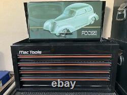 Ultra Rare Mac Tools Foose Design Top Box With Complete Set Of Mac Tools Inside
