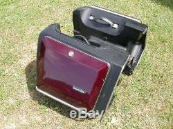 Vetter Kofferset mit Topcase hardbags and top box GL 500 GL 1100 Z 1100 Z 1300