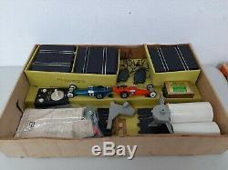 Vintage 1965 Eldon 124 Top Eliminator Drag Strip Set Complete Boxed Drag Cars