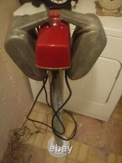 Vintage Koropp Drive In Movie Speaker Set / Red Glow Top Junction Box