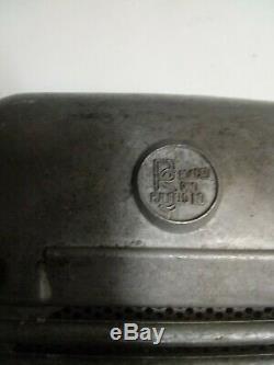 Vintage drive in movie speaker set, Projected Sound / Eprad glow top juct box