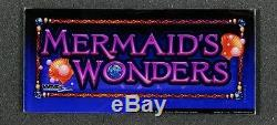 Williams WMS Slot Machine GOLDFISH 2 Animator Top Box with MERMAID'S WONDERS Set