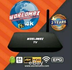 Worldmax 4k Tv Meet The World Max Tv Hd Set-top Box Latest Model