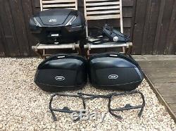 Yamaha Tracer 900 GIVI top box & pannier set