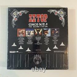 ZZ TOP Cinco No. 2 The Second Five LPs Vinyl 5 LP Box Set SEALED
