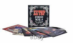 ZZ Top Cinco No. 2 The Second Five LPs(Vinyl 5LP -Box Set), Rhino